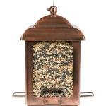 Perky Pet Antique Copper Lantern Bird Feeder