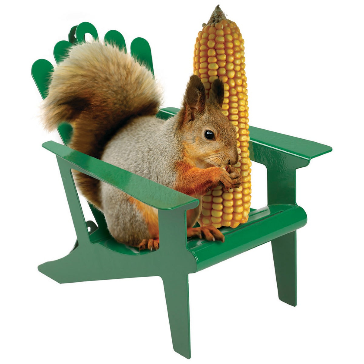 ADRNDCK SQUIRREL FEEDER - 50116 by Hiatt Mfg