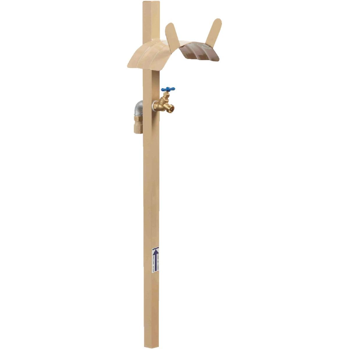 Yard Butler HCF-3 Free-Standing Garden Hose Hanger with Faucet