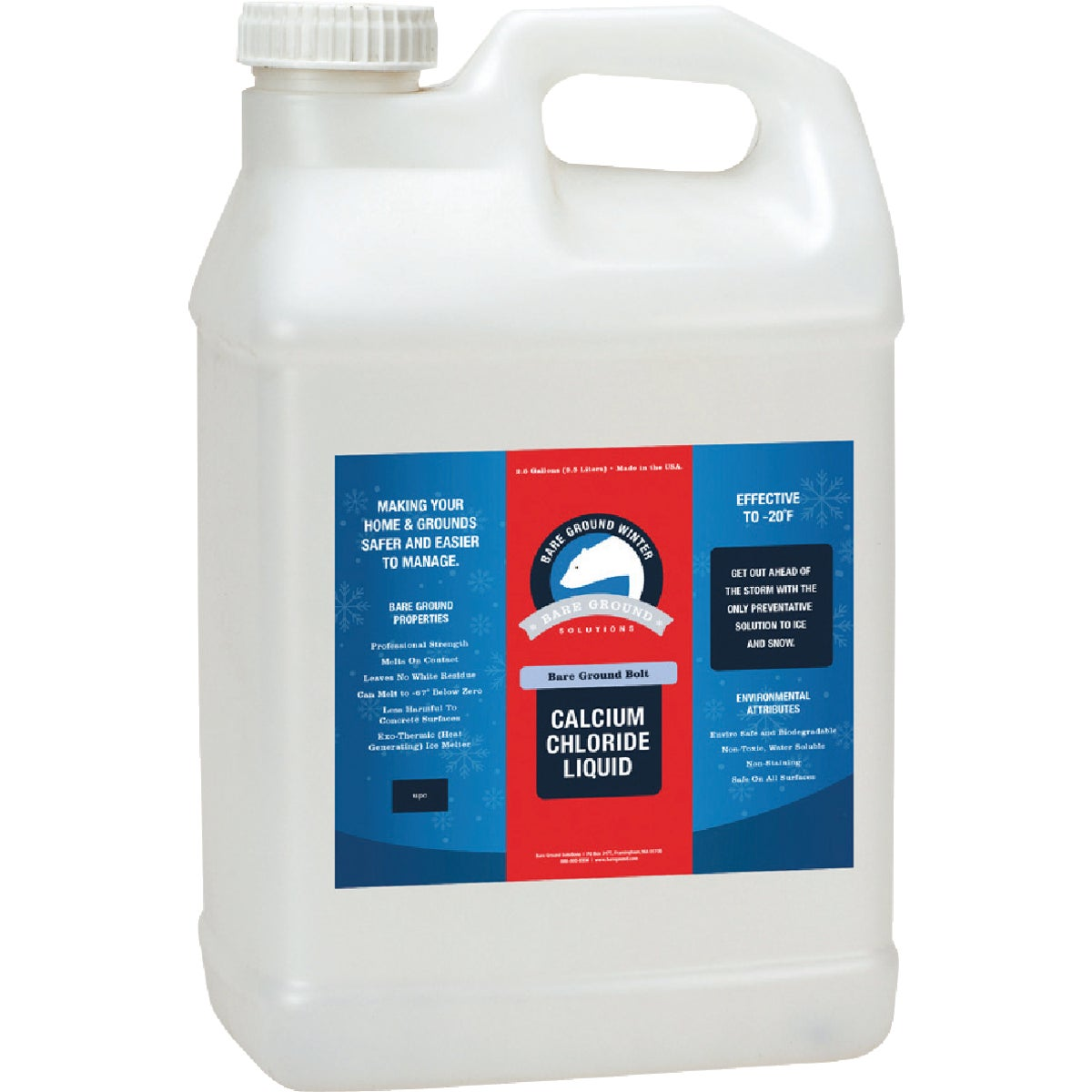 2.5GAL LIQUID ICE MELT - 853374002060 by Asi Innovations