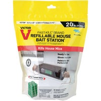 Victor Fast-Kill Refillable Mouse Bait Station, M920