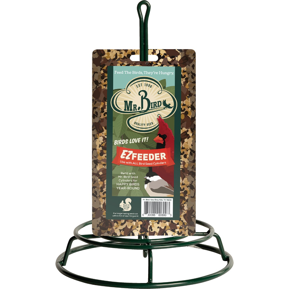 SEED LOG HANGING FEEDER