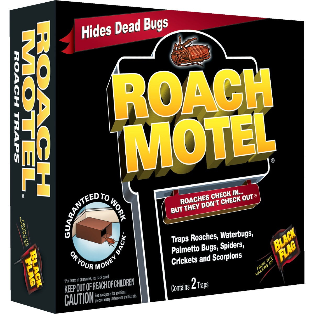 2PK ROACH BAIT TRAP - HG-11020 by United Industries Co