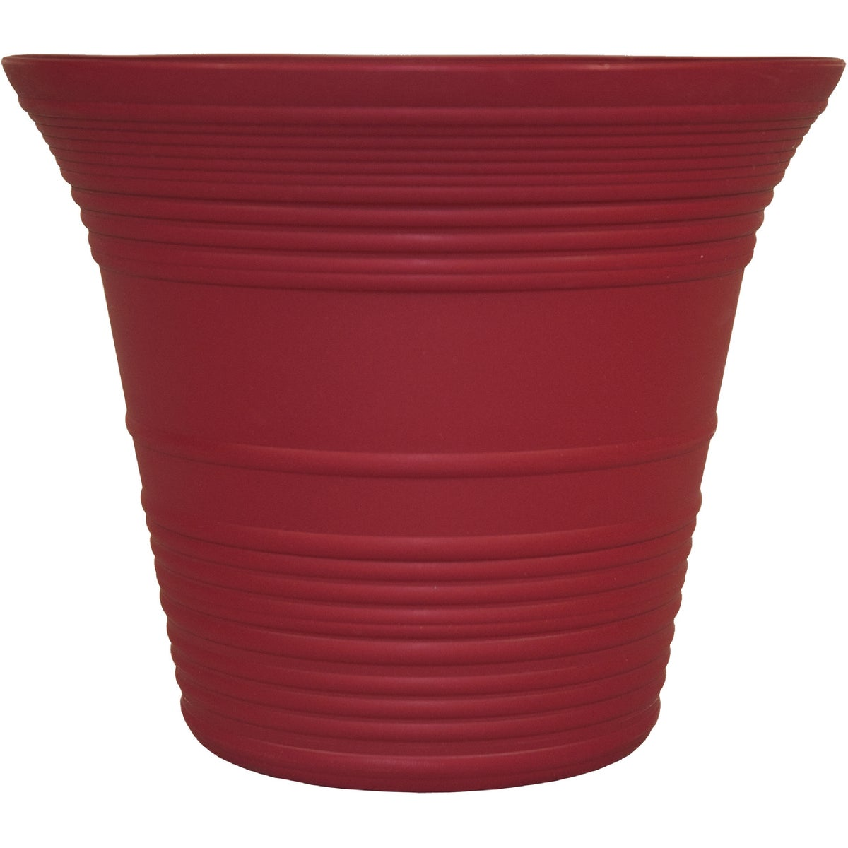 "9"" RED SEDONA PLNTER - SEA09001F85 by Myers Industries Inc"