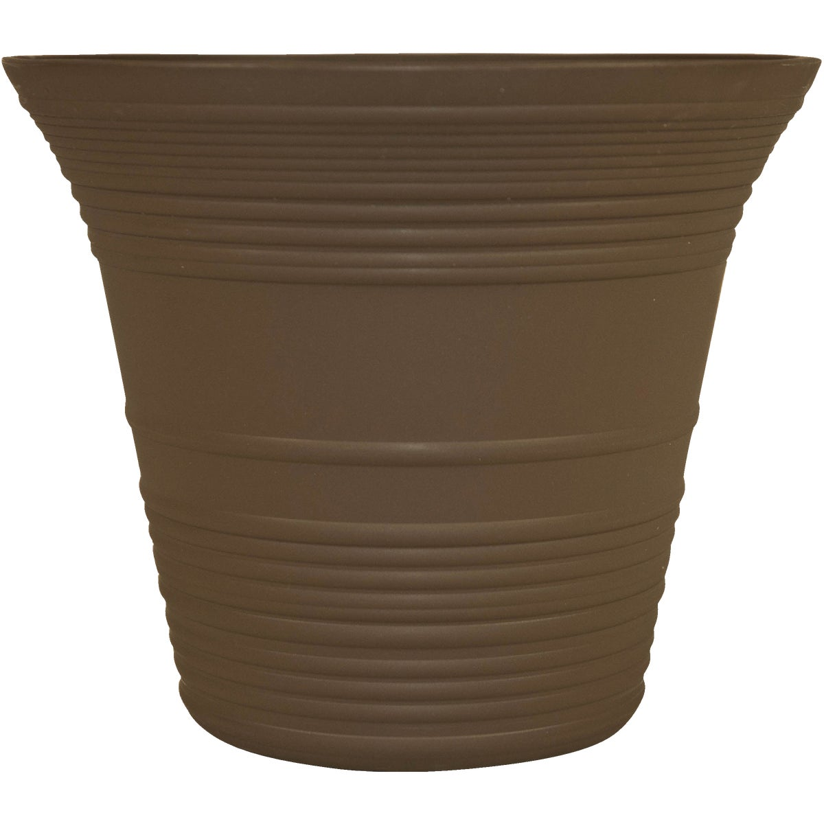 "9"" BROWN SEDONA PLNTER - SEA09001E41 by Myers Industries Inc"