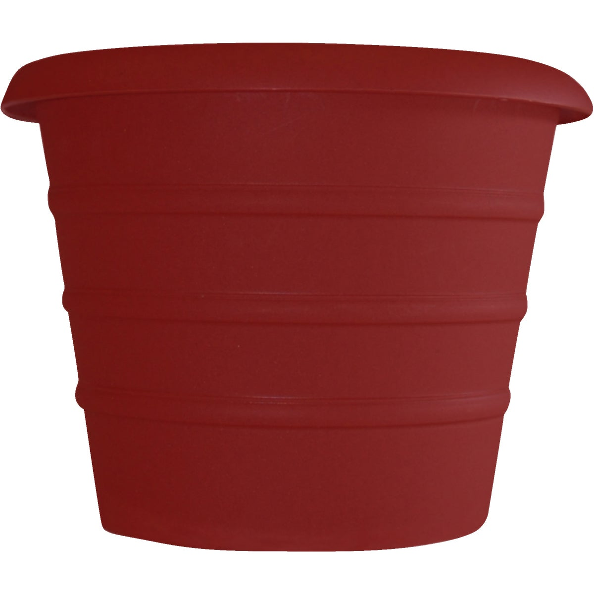 "8"" RED SELF WATER POT - MSA08001F85 by Myers Industries Inc"
