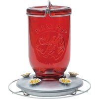 Perky-Pet Mason Jar Hummingbird Feeder, 786