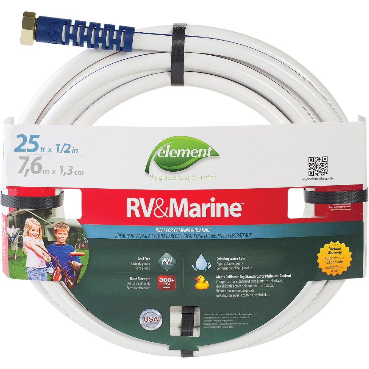 "1/2""X25' RV/MARINE HOSE - ELMRV12025 by Colorite  Swan"