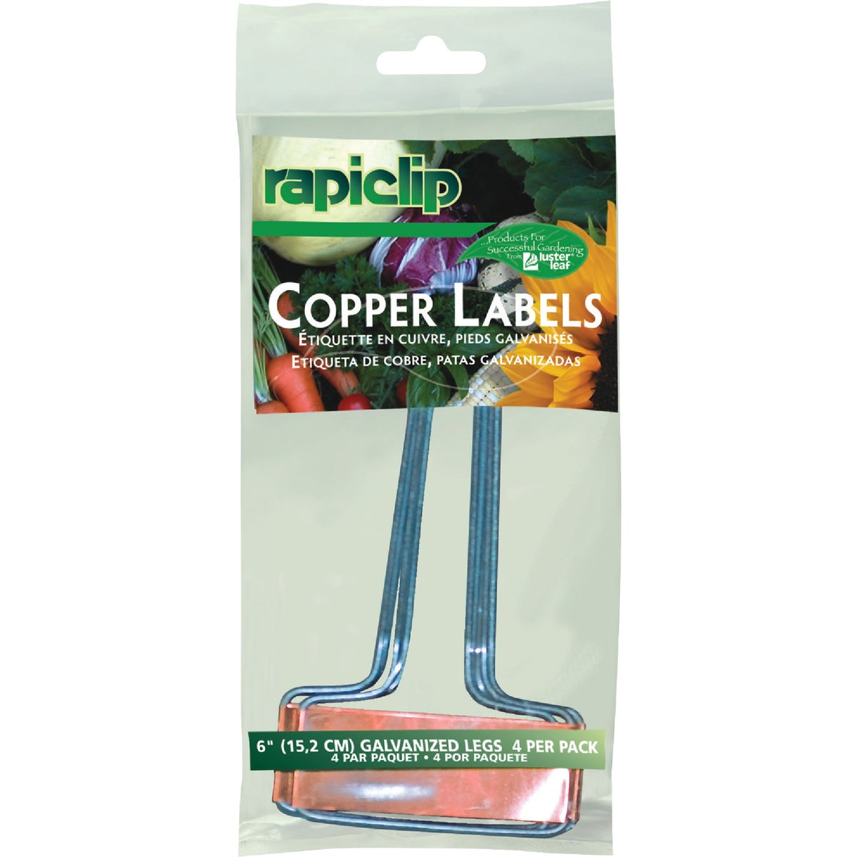 """6"""" COPPER PLANT LABEL - 861 by Luster Leaf Prod Inc"""
