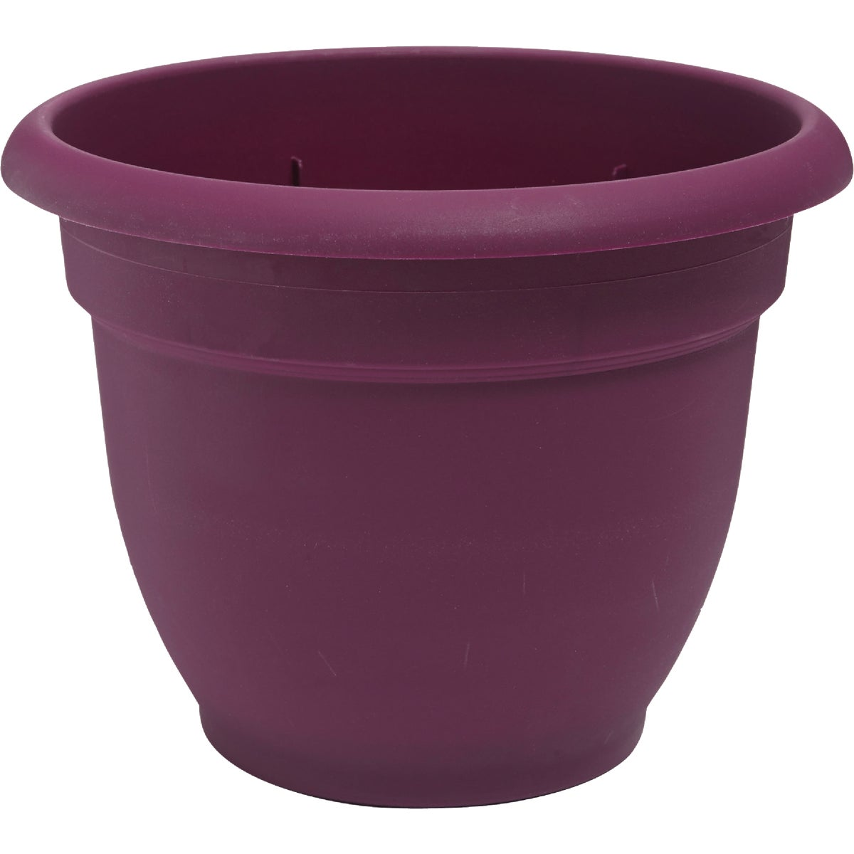 "12"" FUCHSIA ARIANA POT - 465123-1001 by Fiskars Brands Inc"