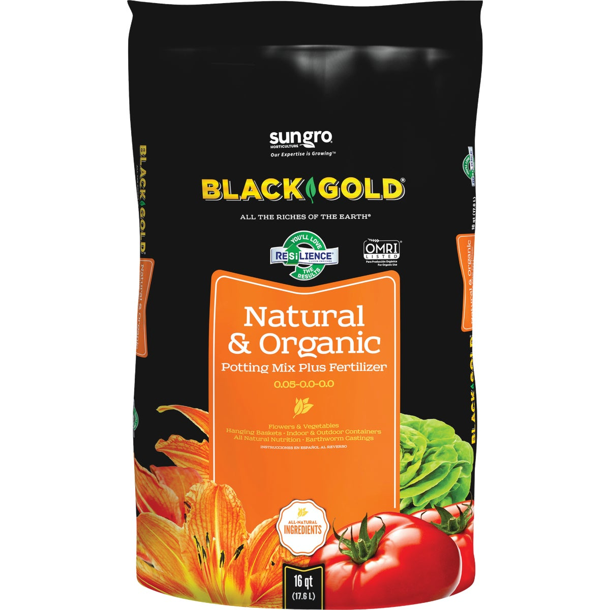 16QT BG NATRL/ORGNC SOIL