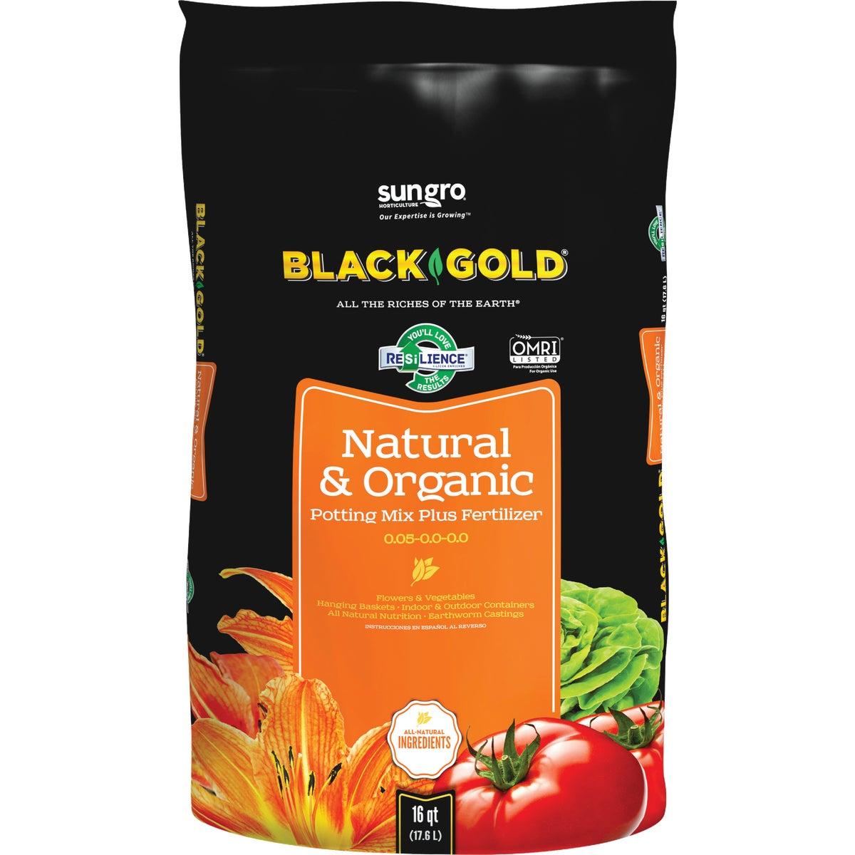 16QT BG NATRL/ORGNC SOIL - 1402040.Q16P by Sun Gro Horticulture