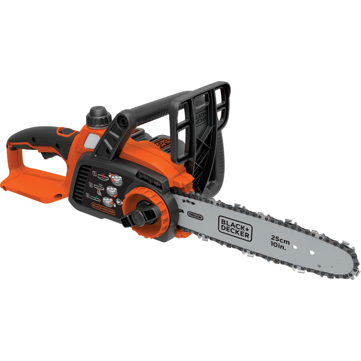 20V LITHIUM CHAINSAW - LCS120 by Black & Decker