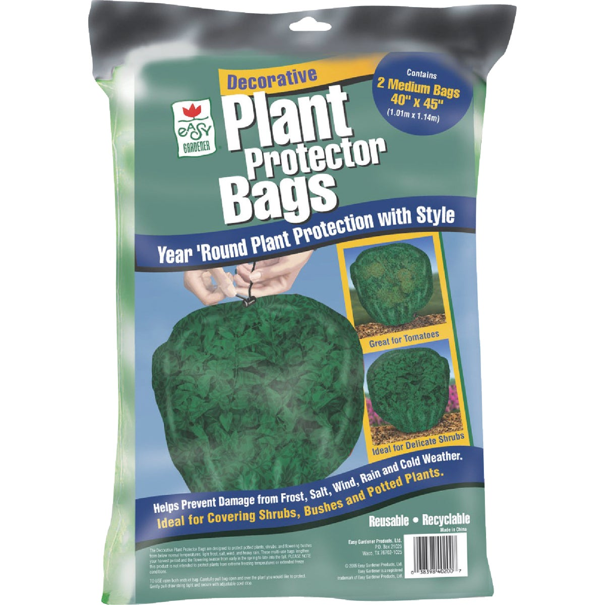 2PK PLANT PROTECTOR BAGS - 40200 by Easy Gardener Inc