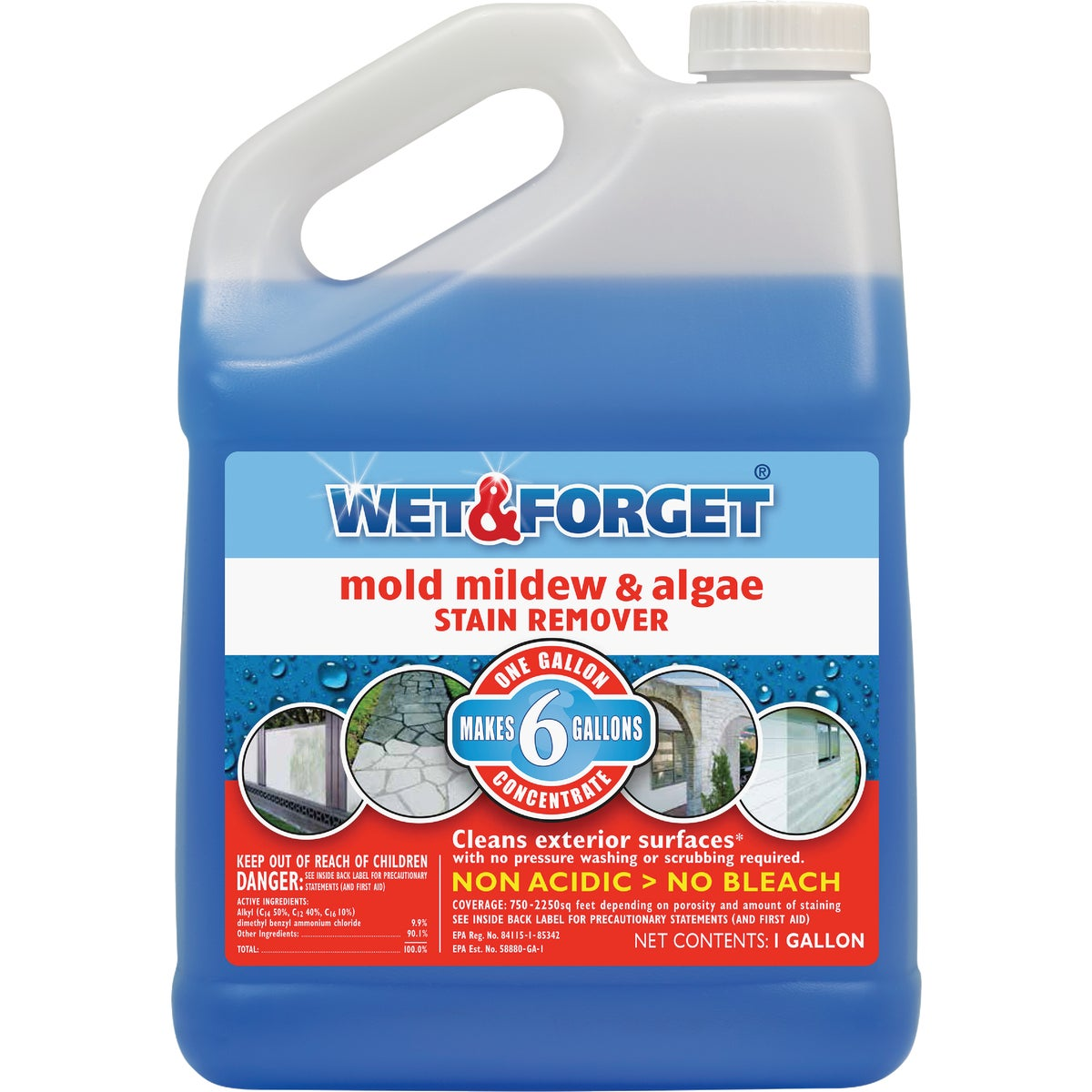 GAL MILDEW STAIN REMOVER - 800066CA by Wet And Forget Inc