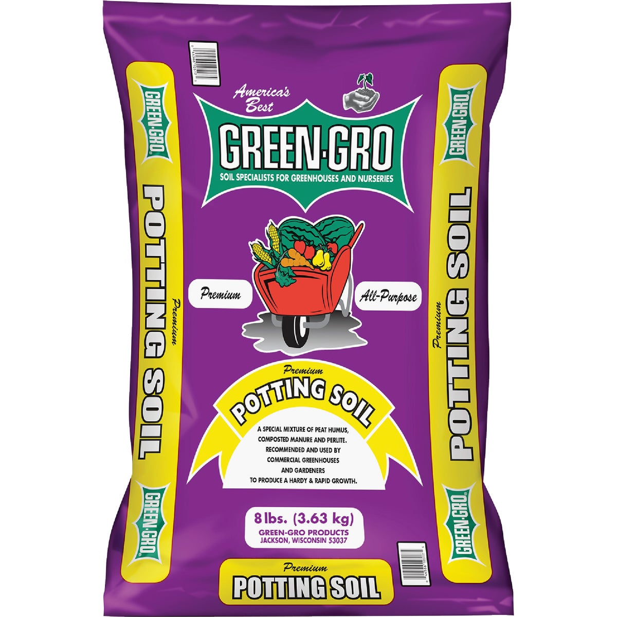 8 LB POTTING SOIL - 336 by Markman Peat Corp