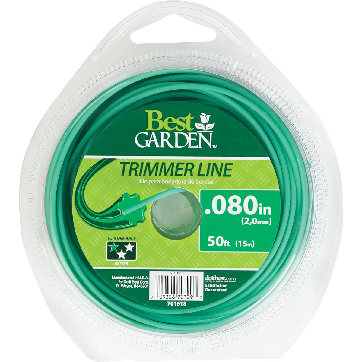 .080 50' TRIMMER LINE - 16249 by Shakespeare Mono
