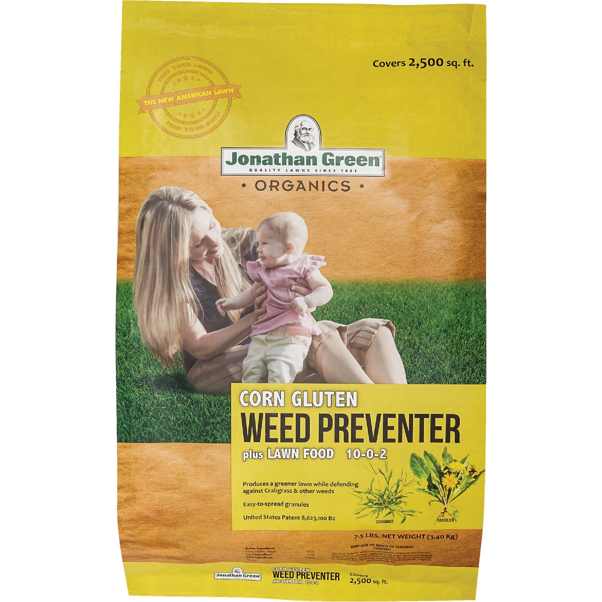 2.5M ORG WEED CONTROL