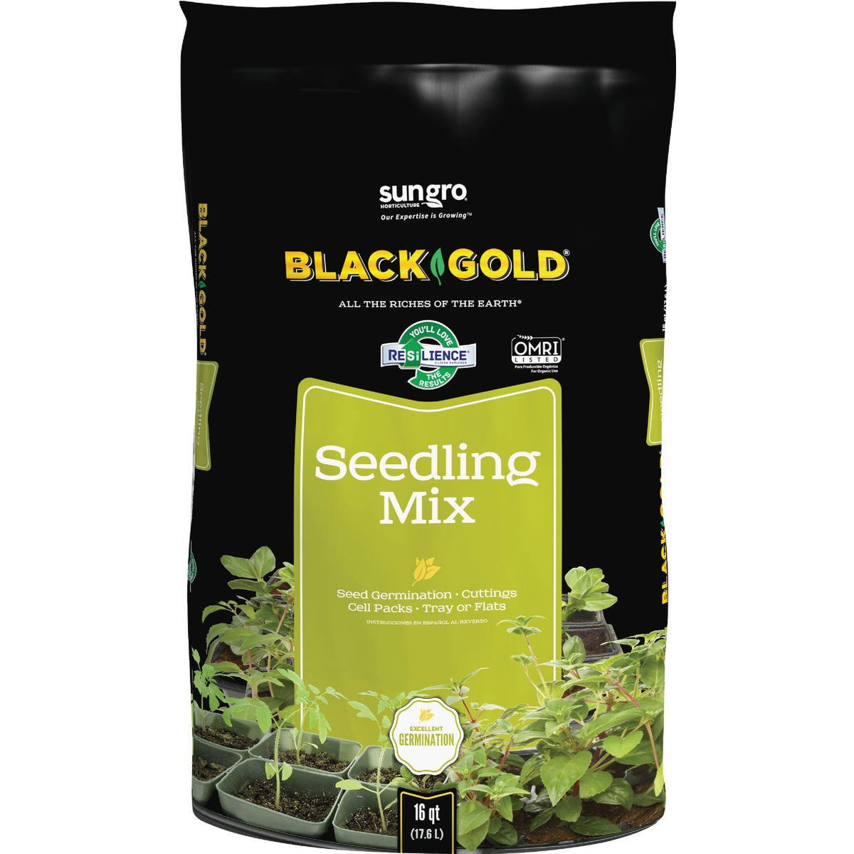 8QT SEED STARTER MIX - G108 by Plantation Products