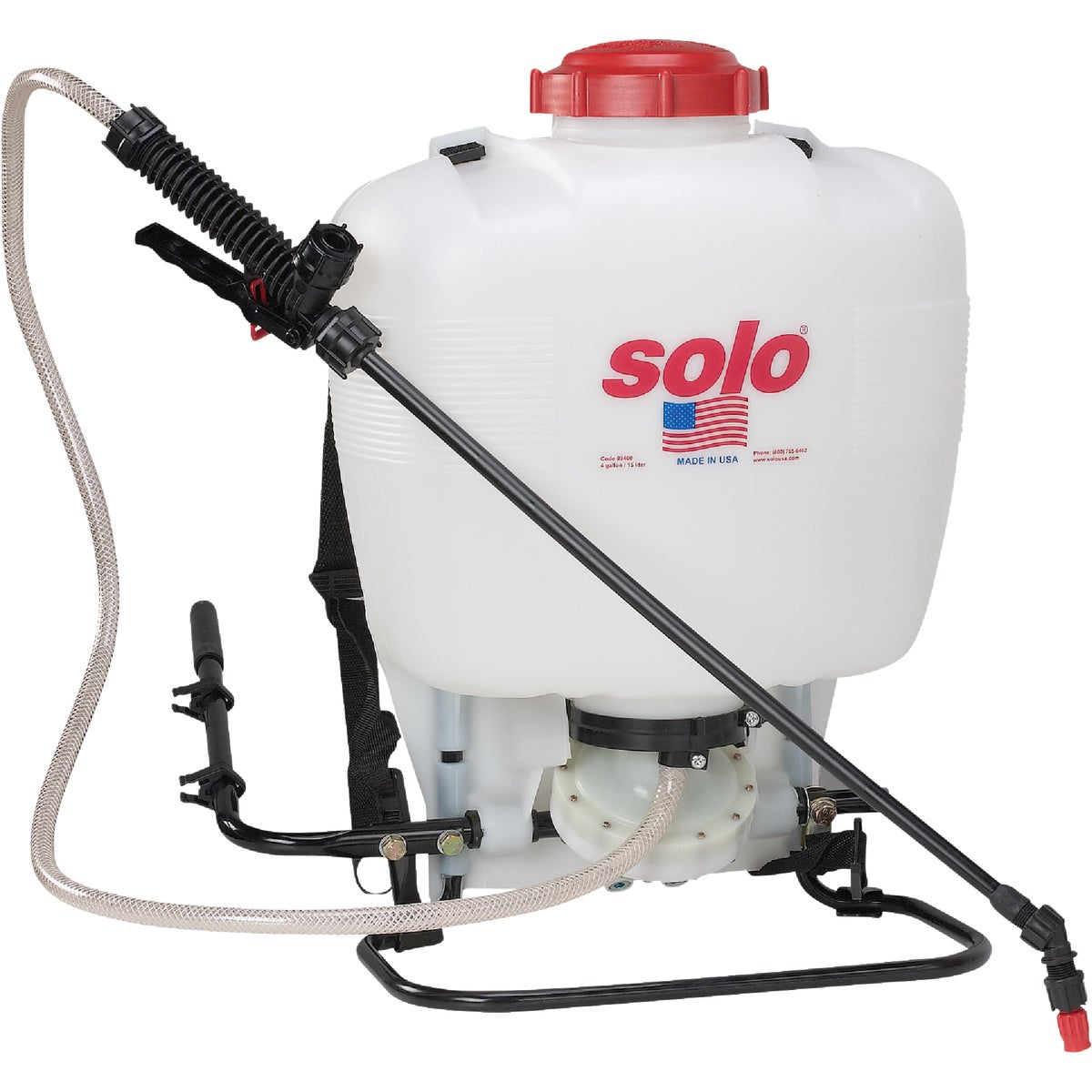 4 GL BACKPACK SPRAYER - 475-B by Solo Inc