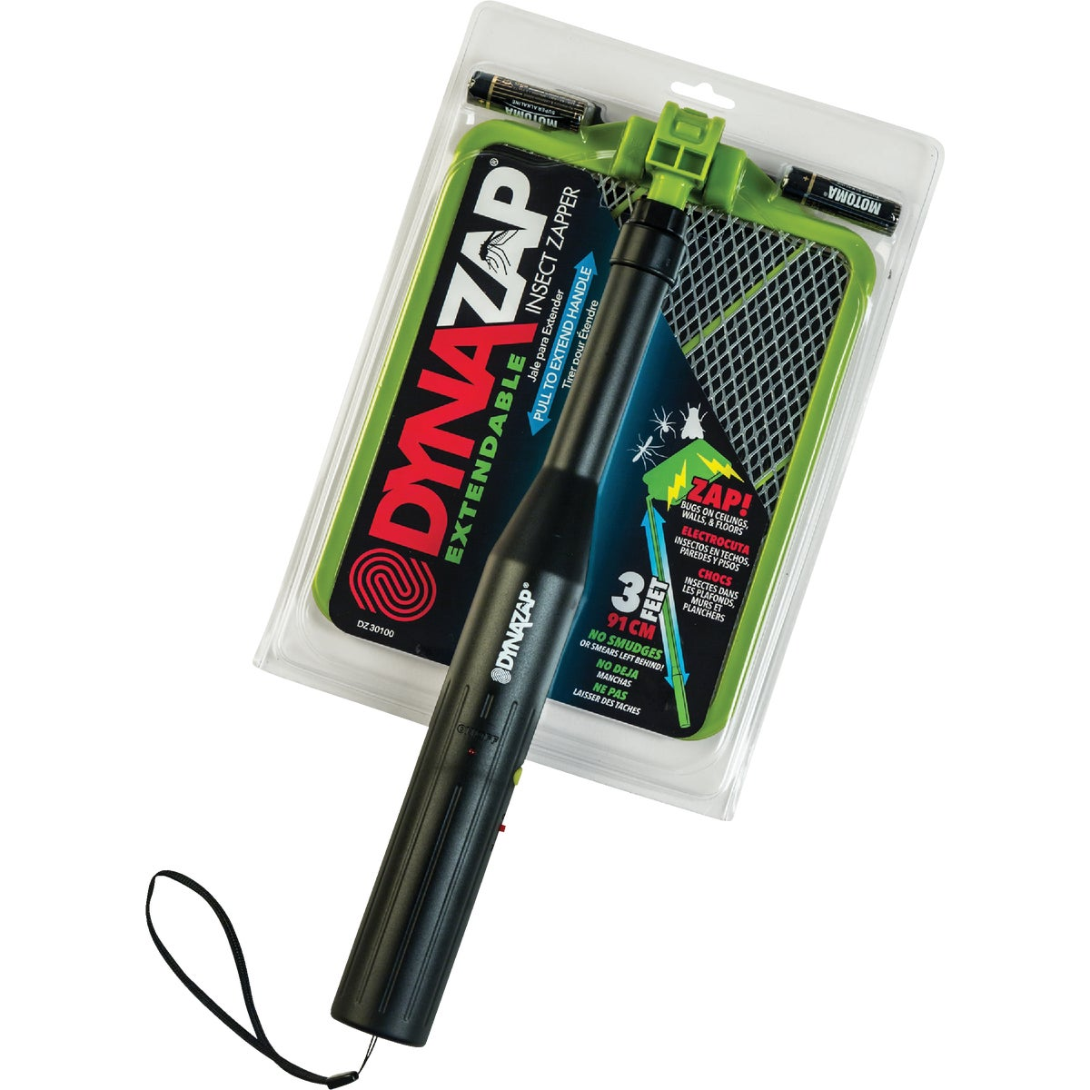 EXTENDABLE INSECT ZAPPER - DZ30100 by Dynamic Solutions