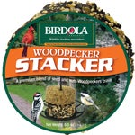 Birdola Woodpecker Stacker Bird Seed Cake