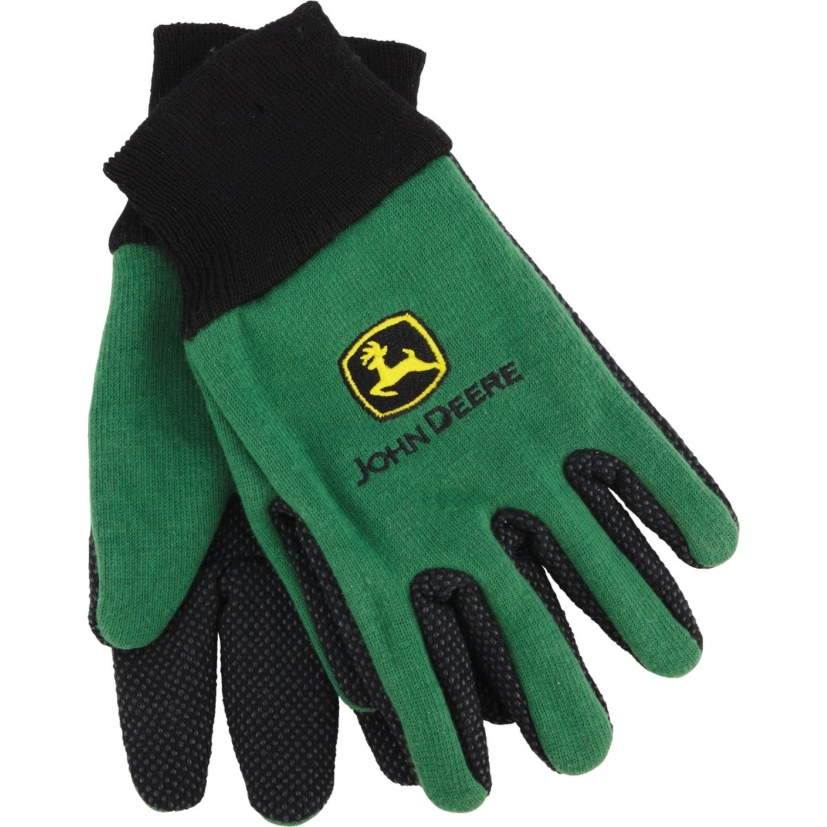 YOUTH GREEN JERSEY GLOVE
