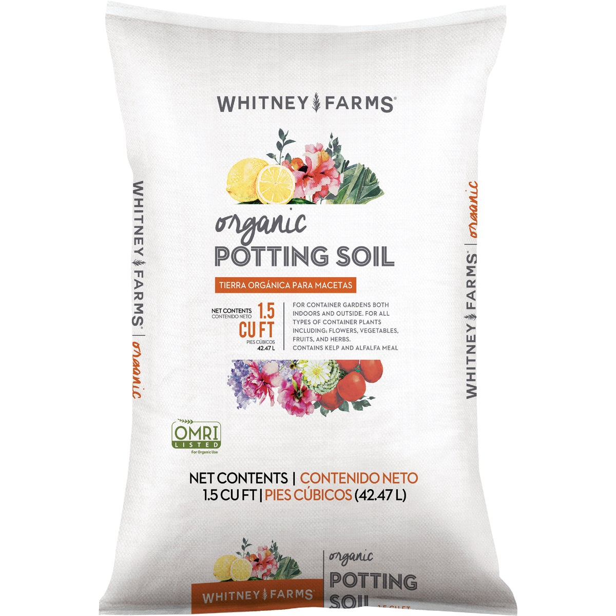 1.5C WF ORGANC POT SOIL - 71659240 by Scotts Organics