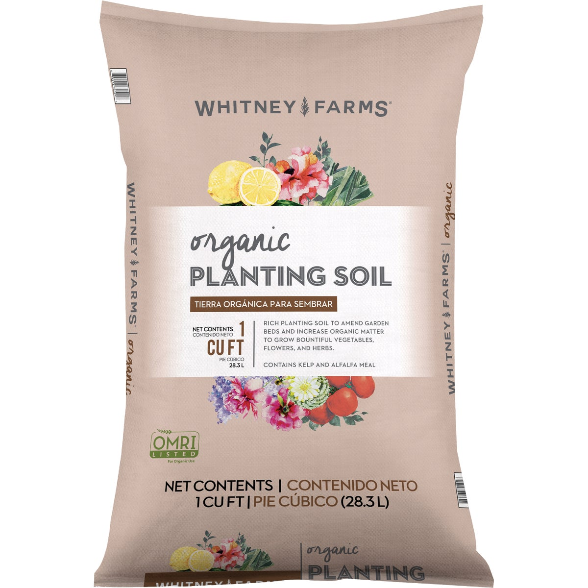 1CF WF ORGANC PLANT SOIL - 72151240 by Scotts Organics