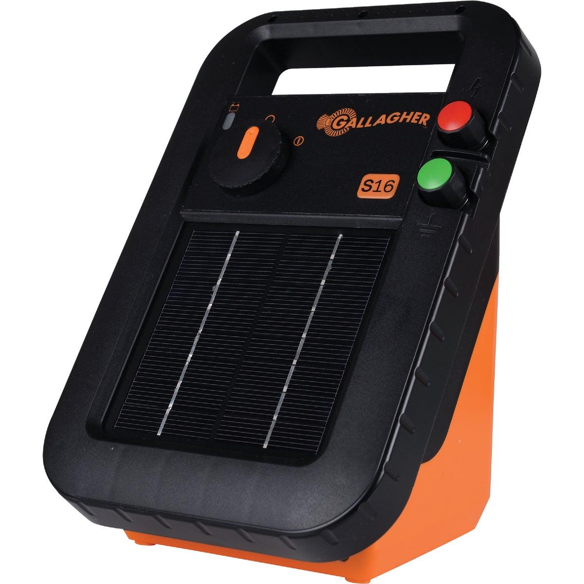 S17 6V SOLAR ENERGIZER - G344404 by Gallagher