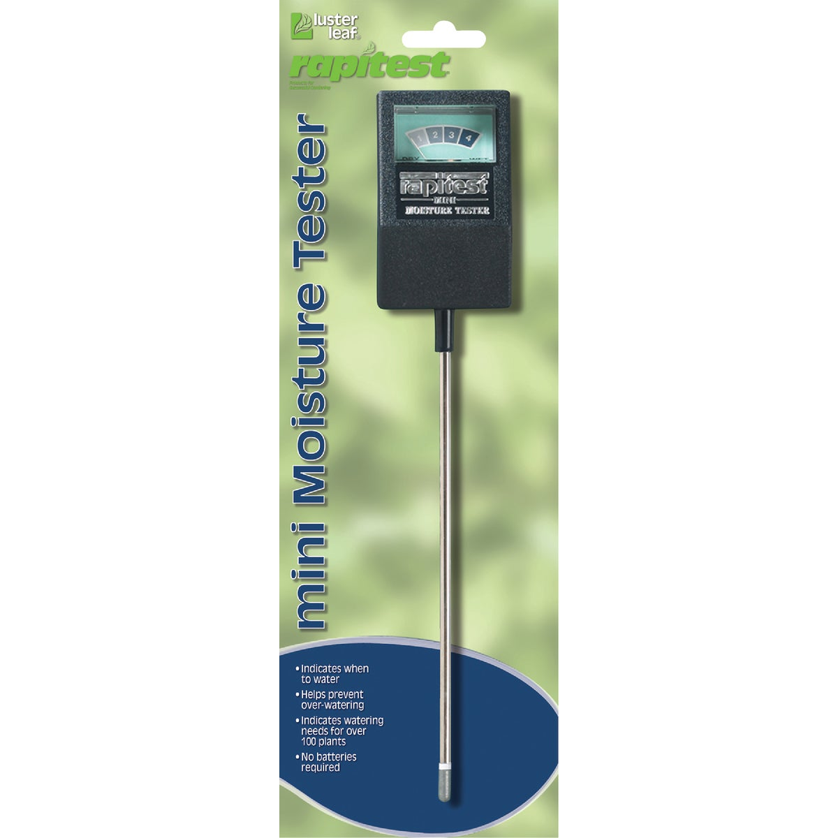 MINI MOISTURE METER - 1810 by Luster Leaf Prod Inc