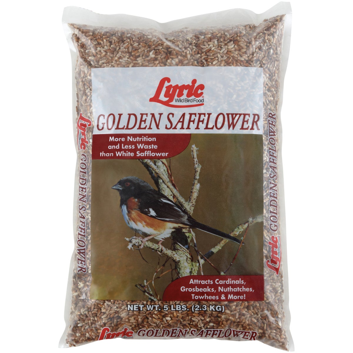 LYRIC SAFFLOWER SEED 5# - 26-47430 by Lebanon Seaboard Cor