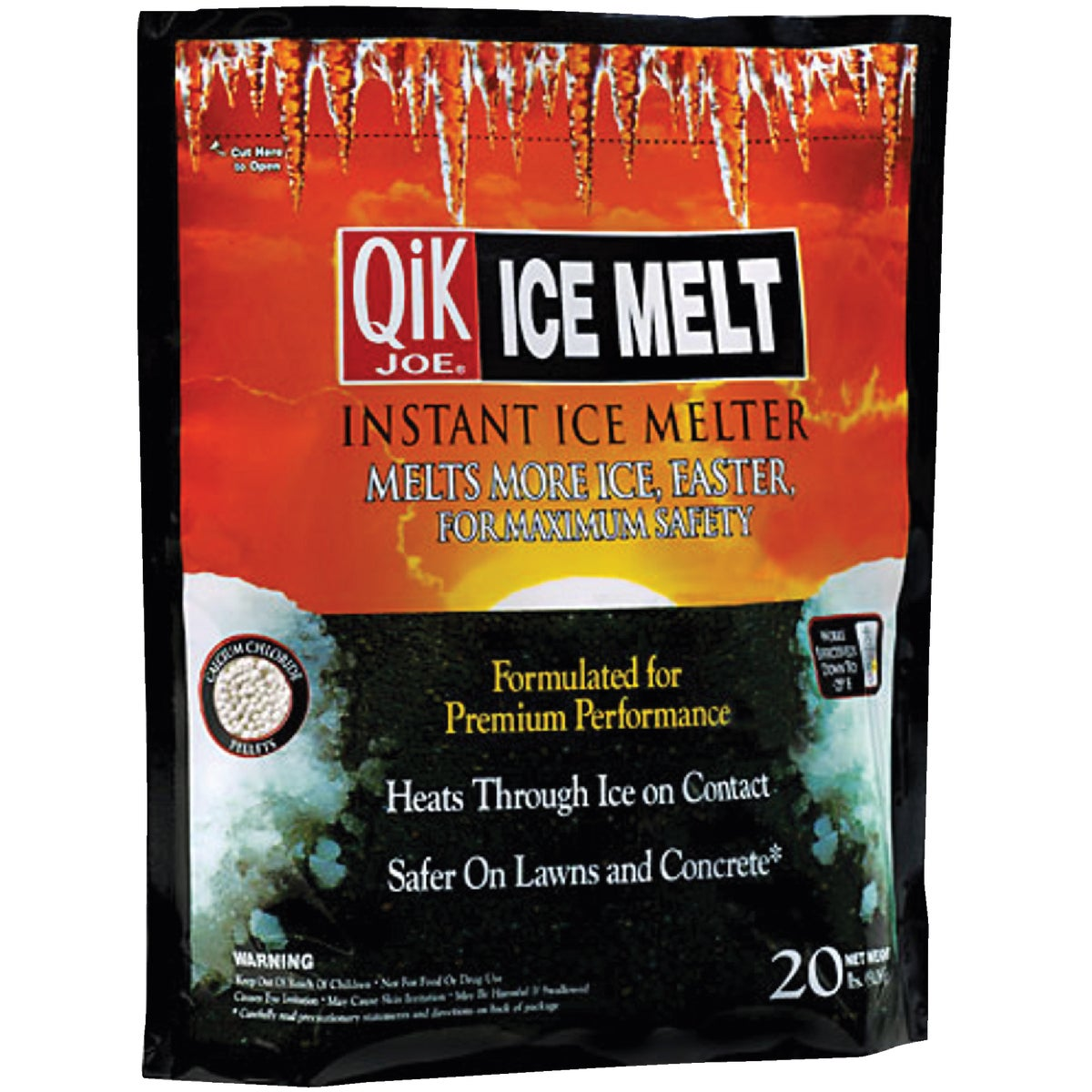 20# QIK JOE ICE MELT - 30020 by MILAZZO INDUSTRIES