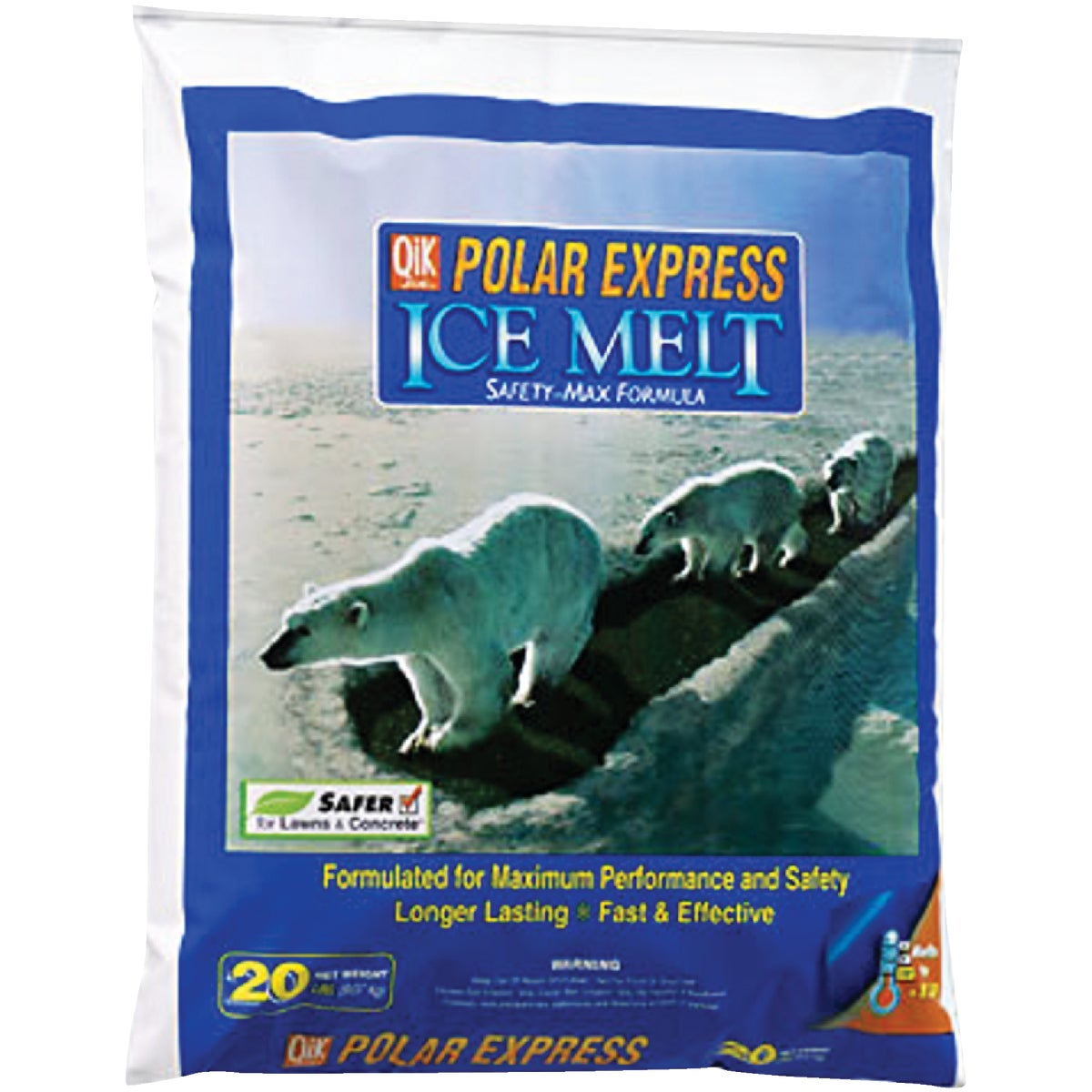 20# POL EXPRESS ICE MELT - 81020 by MILAZZO INDUSTRIES
