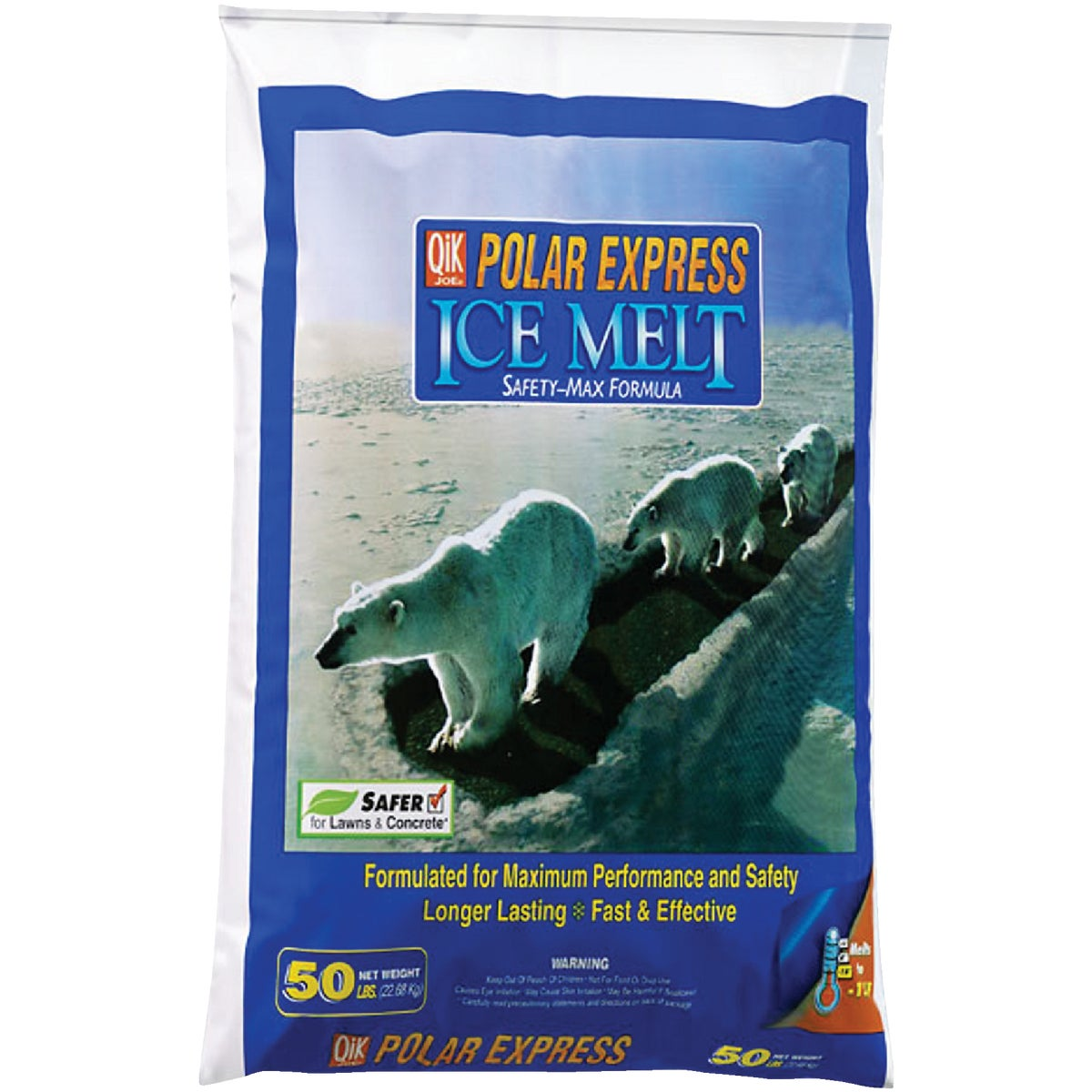 50# POL EXPRESS ICE MELT - 81050 by MILAZZO INDUSTRIES