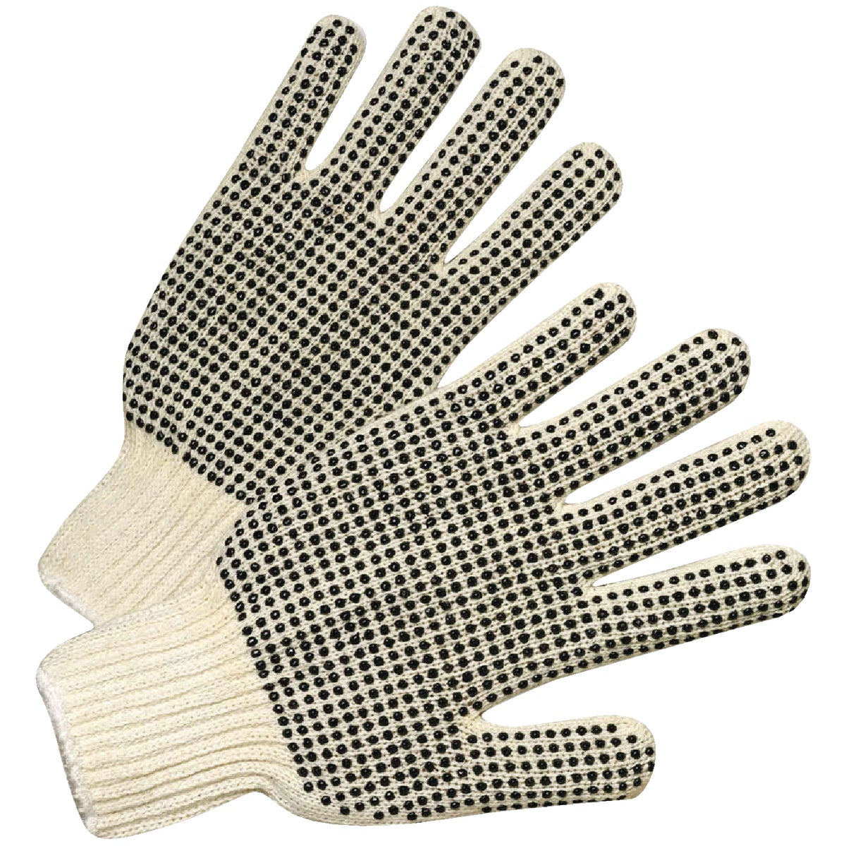 LG DBLE DOT STRING GLOVE - 30010/L by West Chester Incom