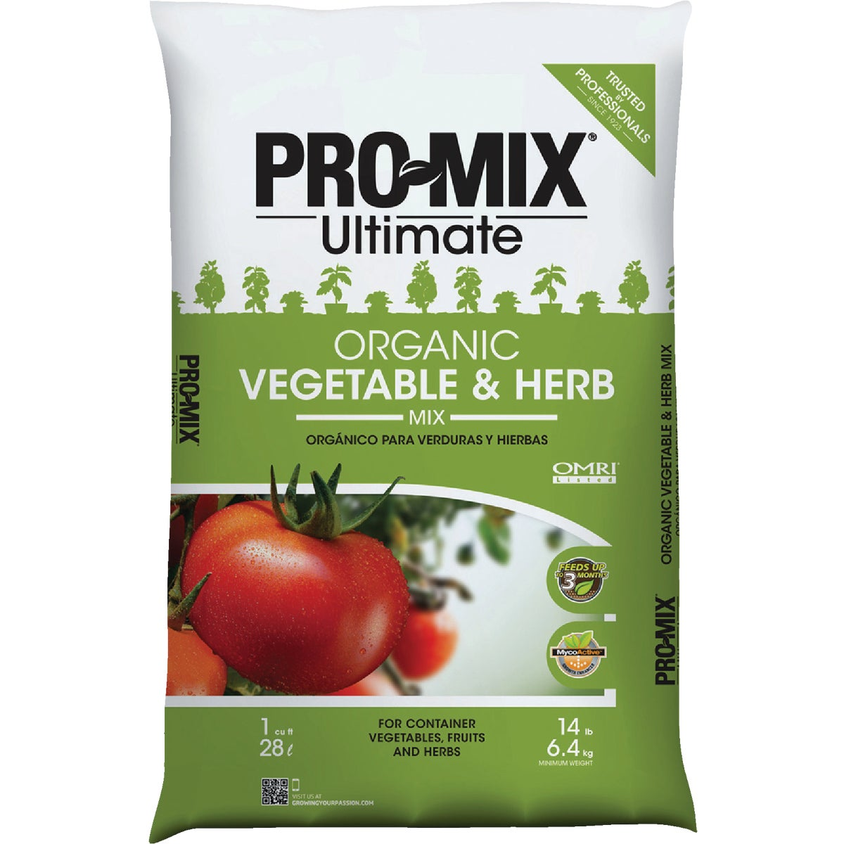 1CF ORG VEG HERB MIX - 1010051RG by Premier Horticulture