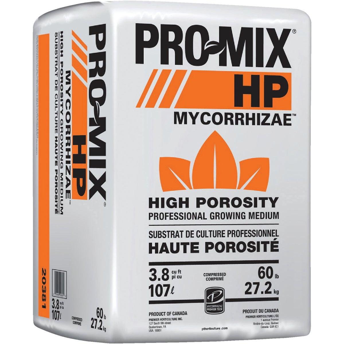 3.8CF PRO HP MYCORRHIZAE - 20381RG by Premier Horticulture