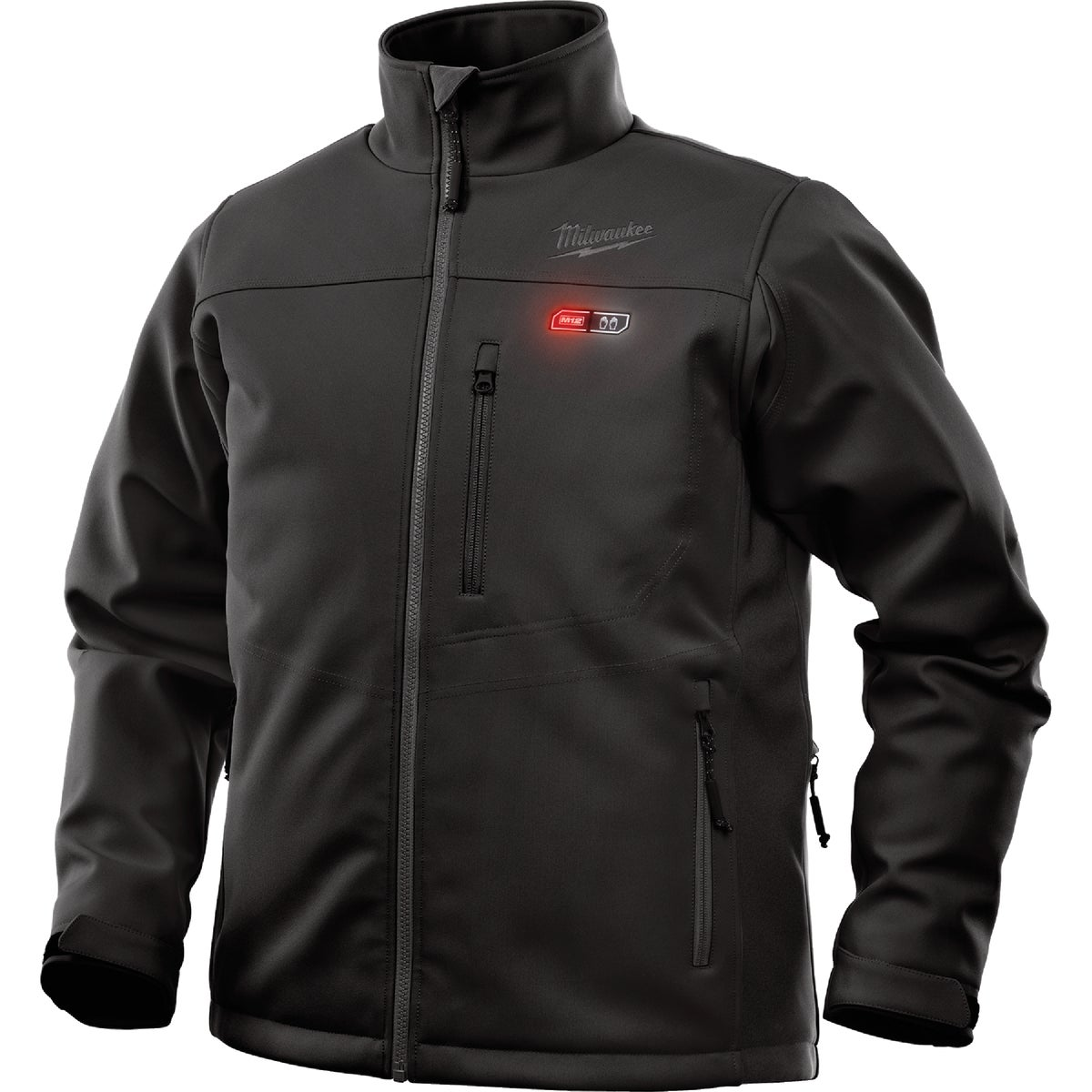M12 2X BLK HEATED JACKET - 2345-2X by Milwaukee Elec Tool
