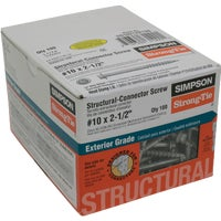 Simpson Strong-Tie 100 #10X2-1/2 WD SCREW SD10212R100