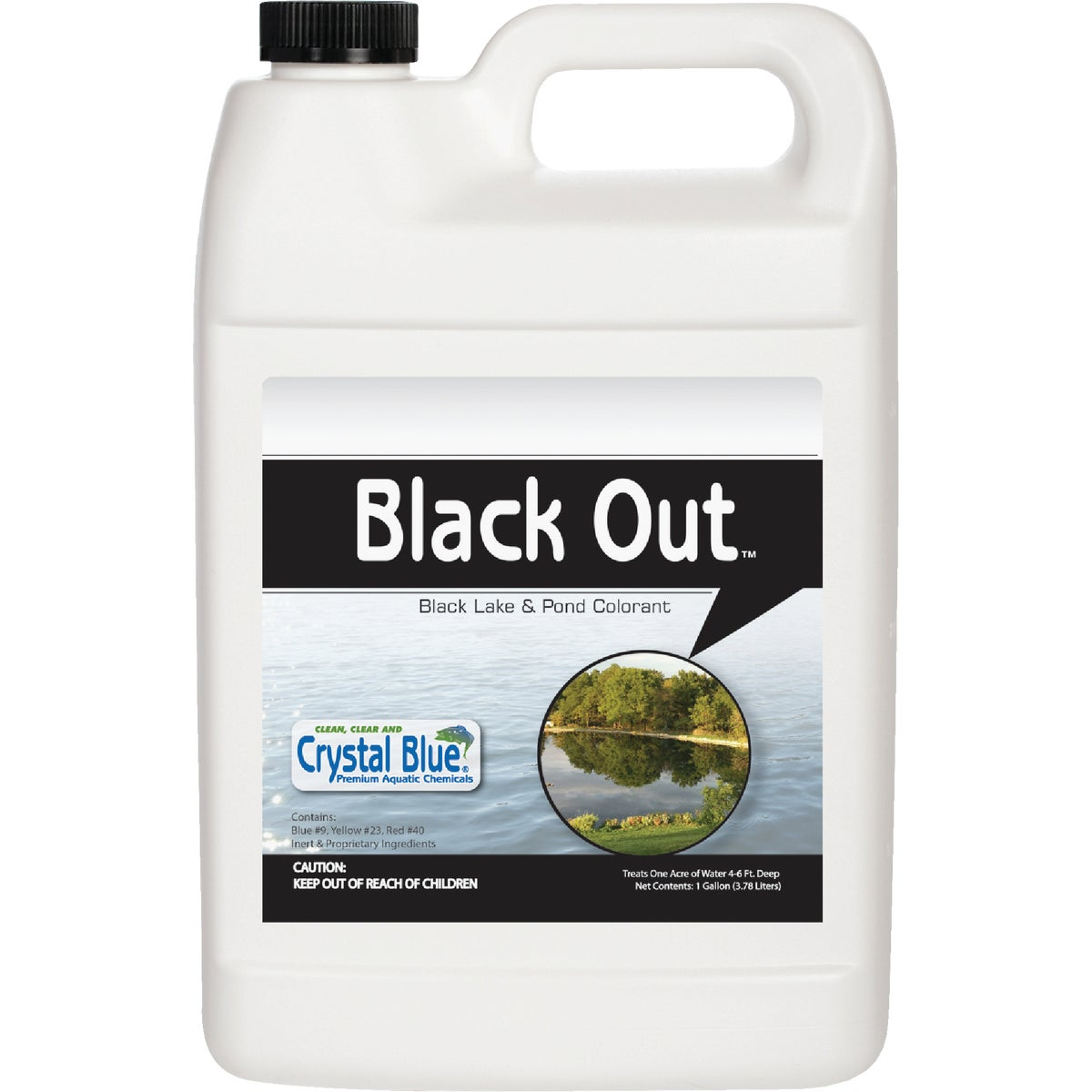 BLACK OUT POND COLORANT - 00311 by Sanco Industries Inc