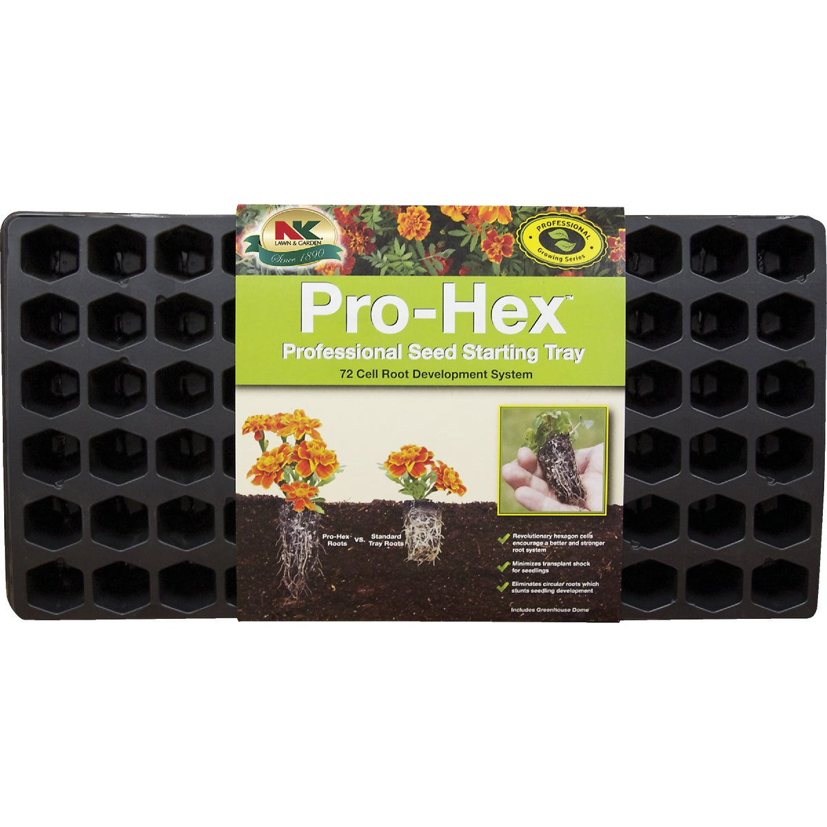 72 CELL HEXAGON TRAY - PHEX by Plantation Products