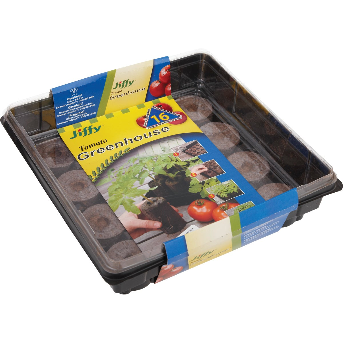 16 PELLET LG GREENHOUSE - J616 by Plantation Products