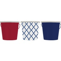 Americana Themed Citronella Bucket, 1413045