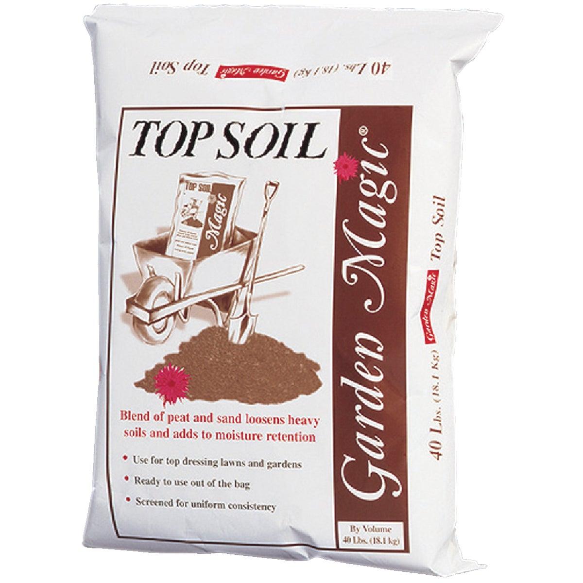 40LB TOP SOIL - 5540 by Michigan Peat