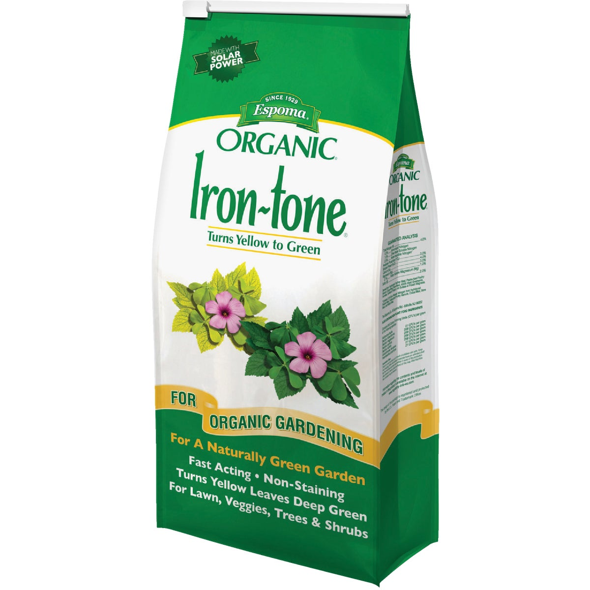 5LB IRON TONE PLANT FOOD - IT5 by Espoma Co