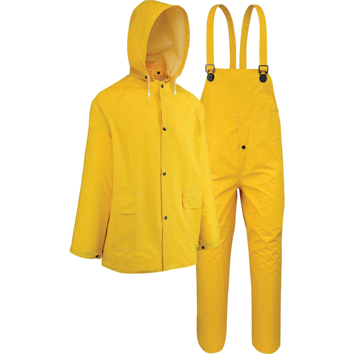 West Chester 3-Piece PVC Yellow Rain Suit, 44035/3XL