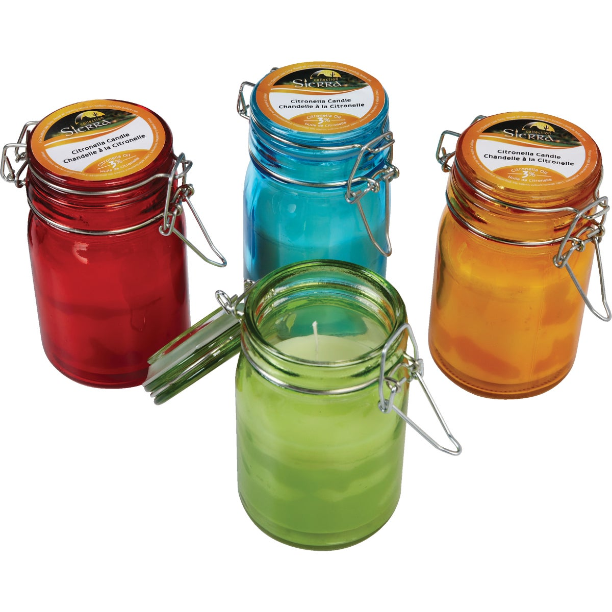 MASON JAR GLASS CANDLE - JTPC0685 by Jay Trends