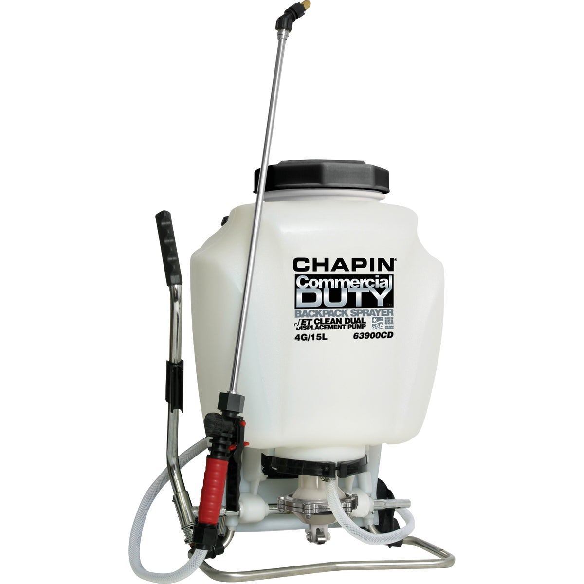 Chapin 63900 4-Gallon Self-Cleaning Backpack Sprayer
