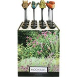Moonrays Solar Ceramic Stake Light Lawn Ornament